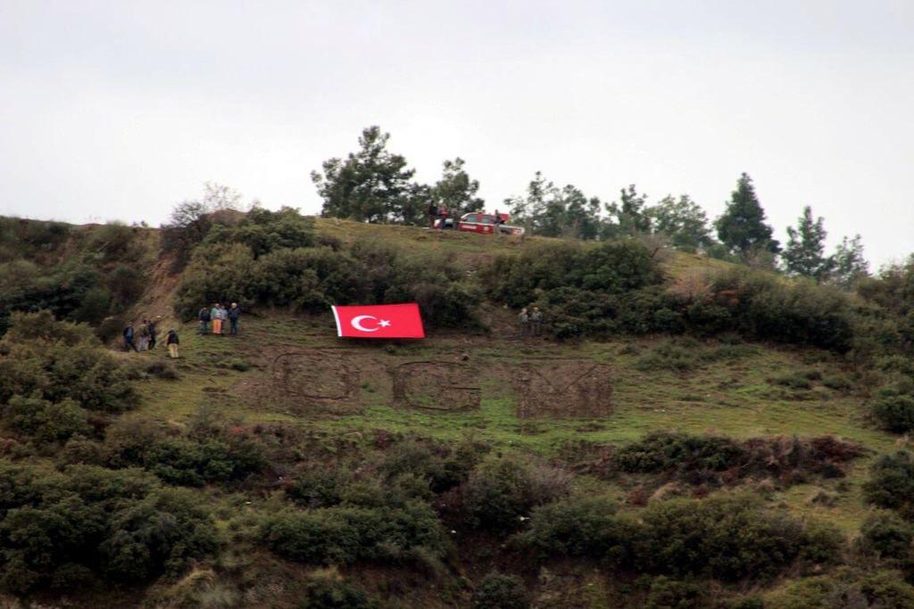 Manisa'da PKK propagandası!