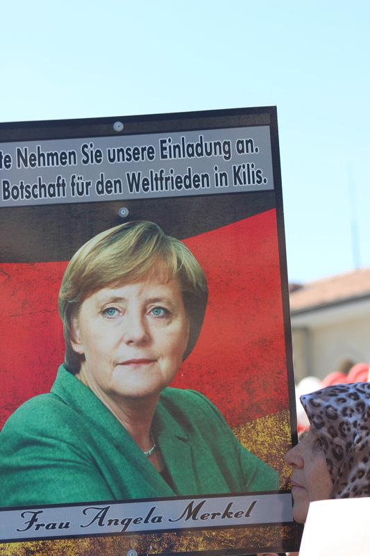 Merkel'e rekor davet