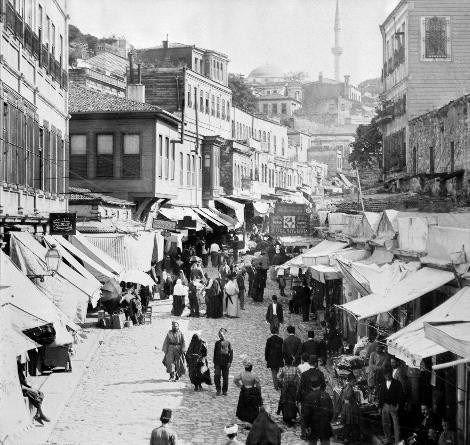 Padişah arşivinden İstanbulda yaşam