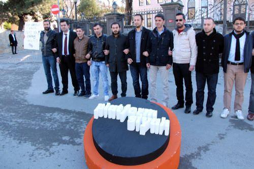 """Platform Siyah""tan 25 Aralık protestosu!"