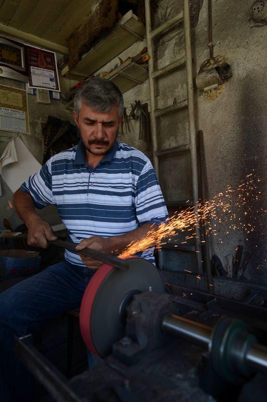 Ramazanda kavurucu sıcakta zorlu mesai