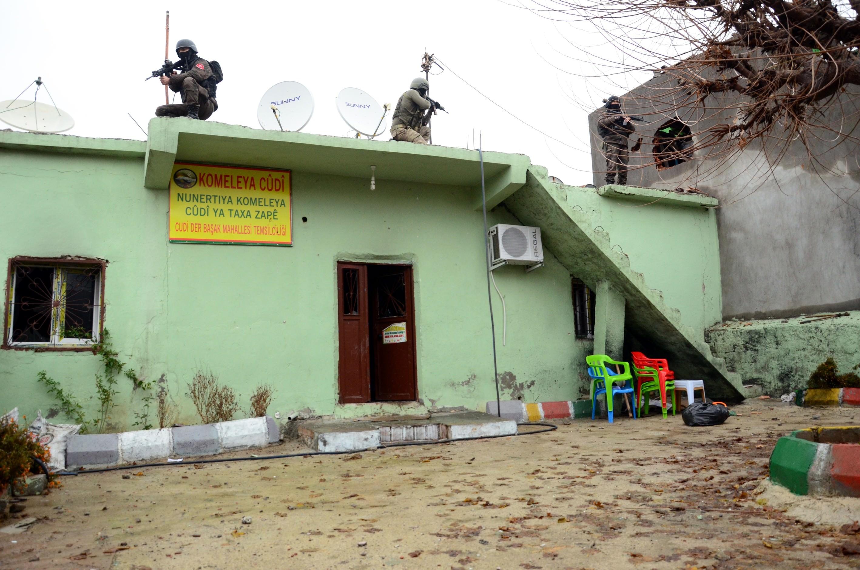 Şırnak'ta terör örgütüne yönelik operasyonlar