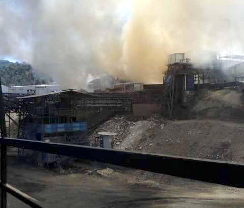 Soma'da maden ocağında yangın