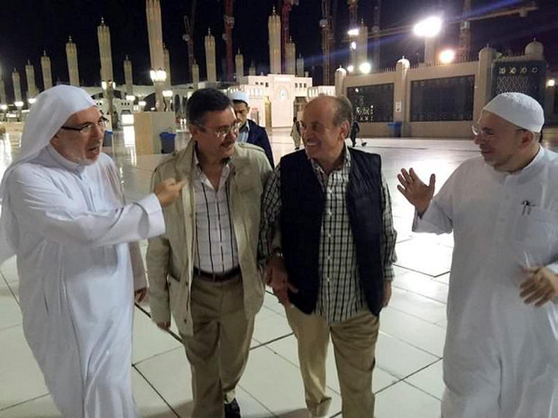 Şükür için Medine'ye gittiler