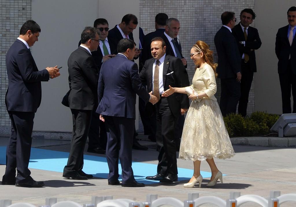 Sümeyye Erdoğan'ın nikahına katılan ünlü isimler