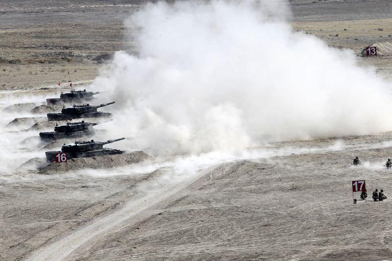 """TSK'dan güç gösterisi """"Ateş Serbest 2014"""""""