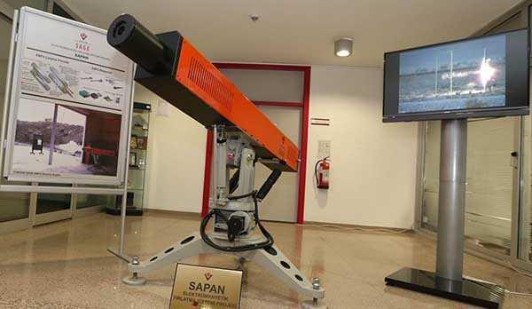 Türk ordusunun yeni silahı 'Sapan'