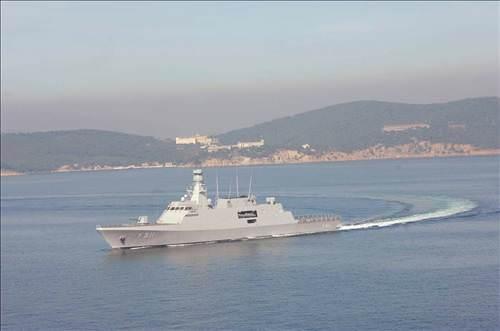 Türk yapımı ilk savaş gemisi