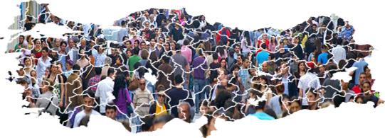 türkiye nüfusu ile ilgili görsel sonucu