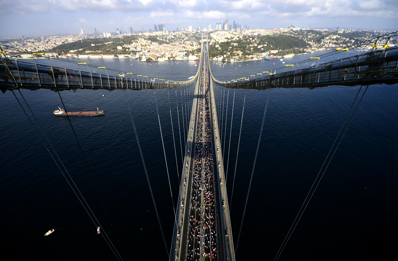 Vodafone 37. İstanbul Maratonu başladı!
