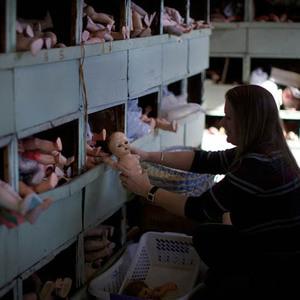 101 yıldır oyuncak bebekleri tedavi eden özel hastane