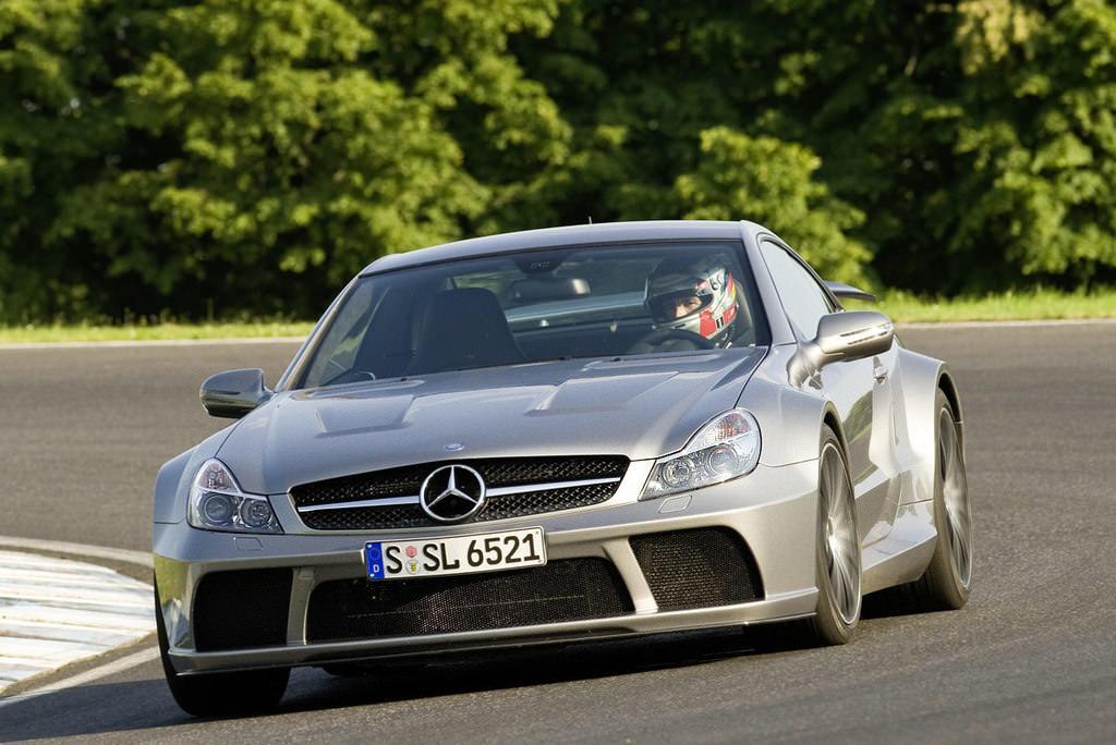 Mercedes sl65 amg black series engine