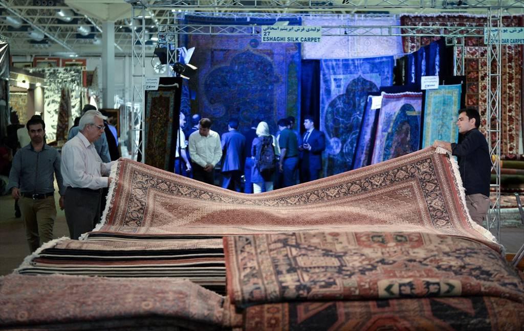 25. İran el dokuması halı fuarı
