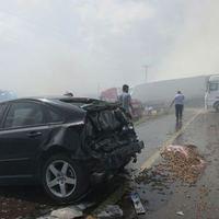 Adana'da zincirleme trafik kazas�