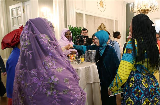 Afrikalı misafirlerine Emine Erdoğan'dan davet
