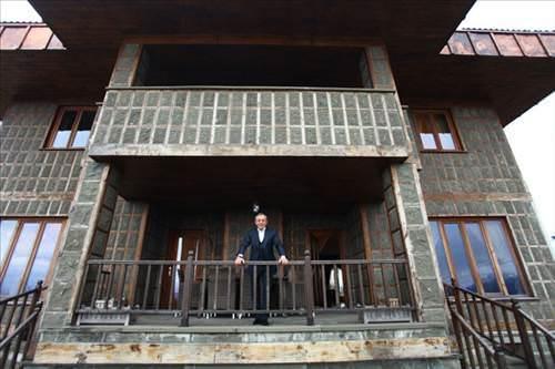 Ali Ağaoğlu'nun Trabzon'daki evi