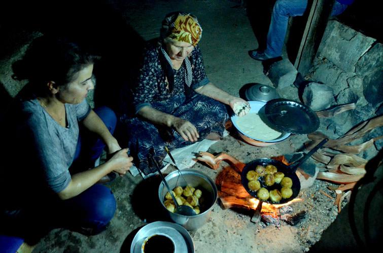 Asırlık köyde son yemek