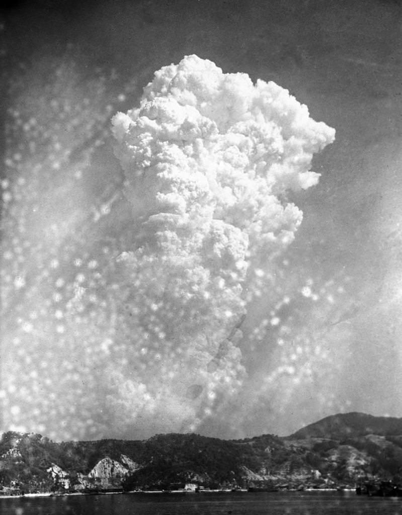 Atom bombasının hemen ardından...