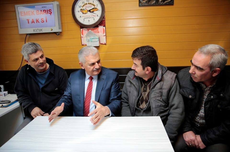 Başbakan'dan sürpriz ziyaret