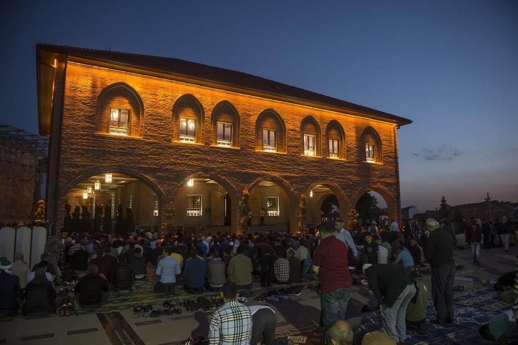 Berat Gecesi'nde Türkiye'de bir ilk yaşandı