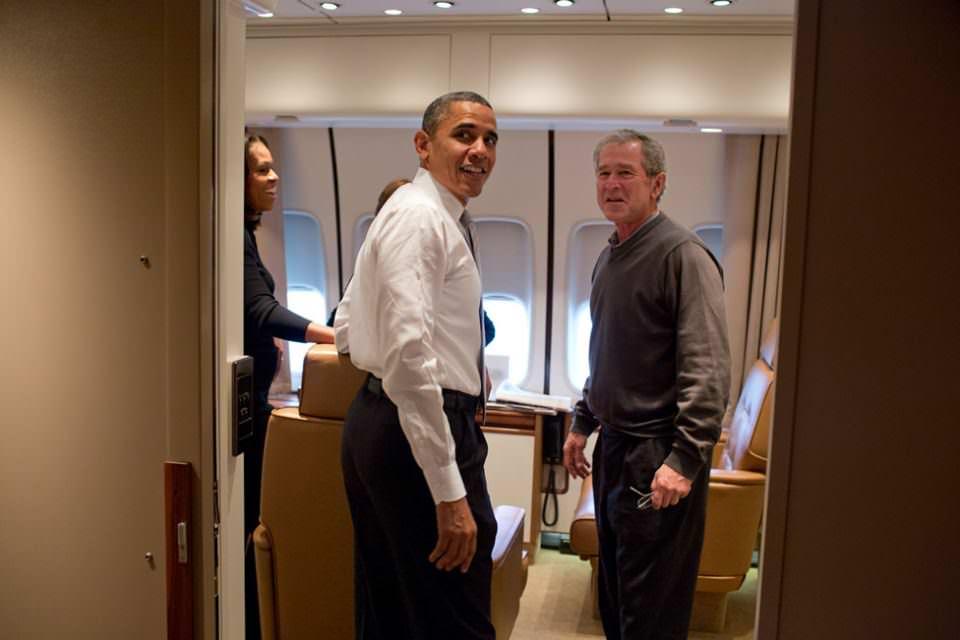 Beyaz Saray'ın en özel kareleri