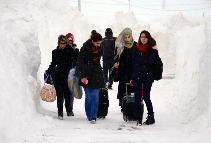 Bitlis a hóban (2016. január) - Forrás: Sabah