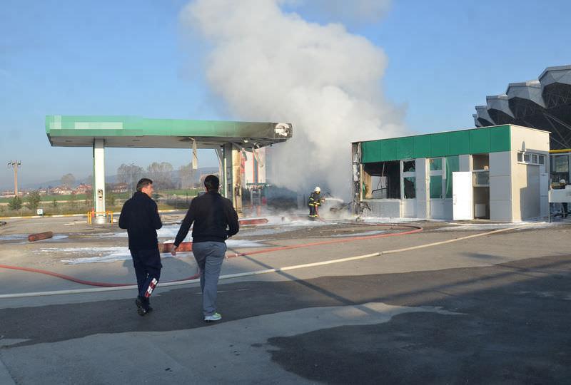 Bolu'da doğalgaz dolum tesisinde patlama