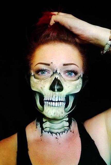 Bu kadının yüzüne ne oldu?