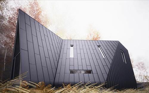 Молодой американский архитектор William O'Brien Jr. создал уникальный проект жилого дома под названием Allandale...