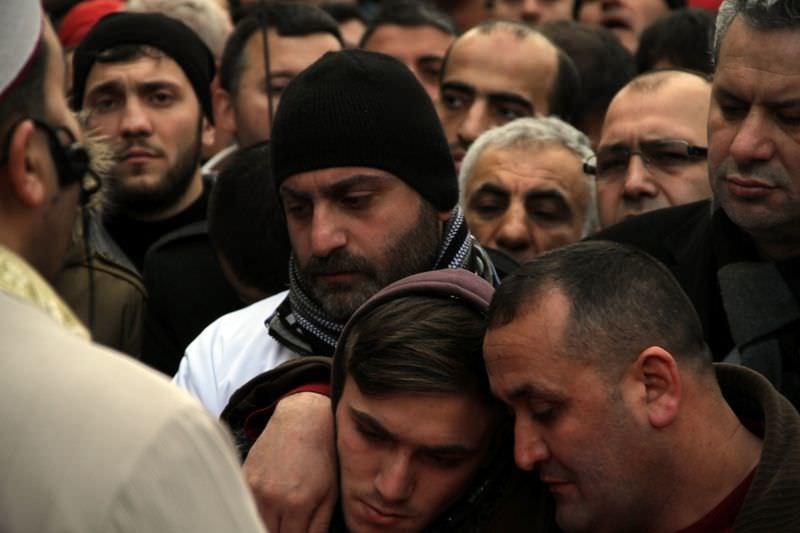 Burak Can Karamanoğlu'nun cenazesine binlerce kişi katıldı