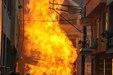 Bursa'da korkutan patlama