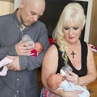 Büyükanne üçüz doğurdu!
