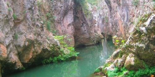 Cennet Kanyonu ilk kez g�r�nt�lendi
