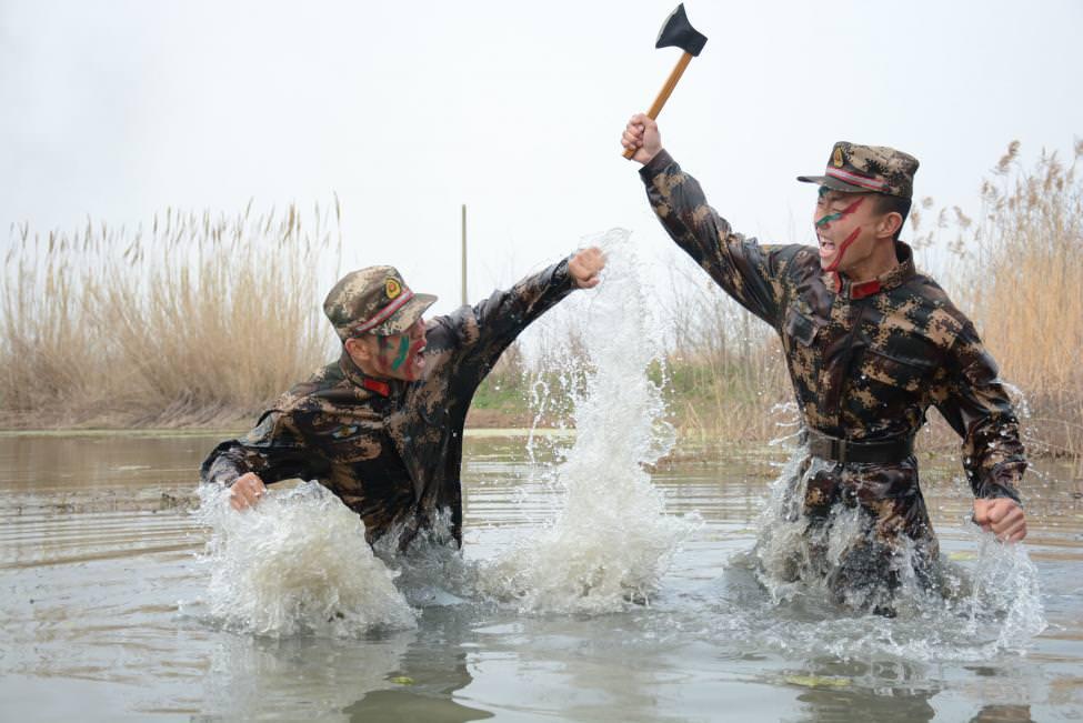 Çin işkencesi gibi askeri eğitim