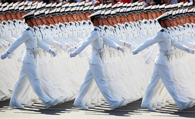 Çin'den şaşırtıcı kareler