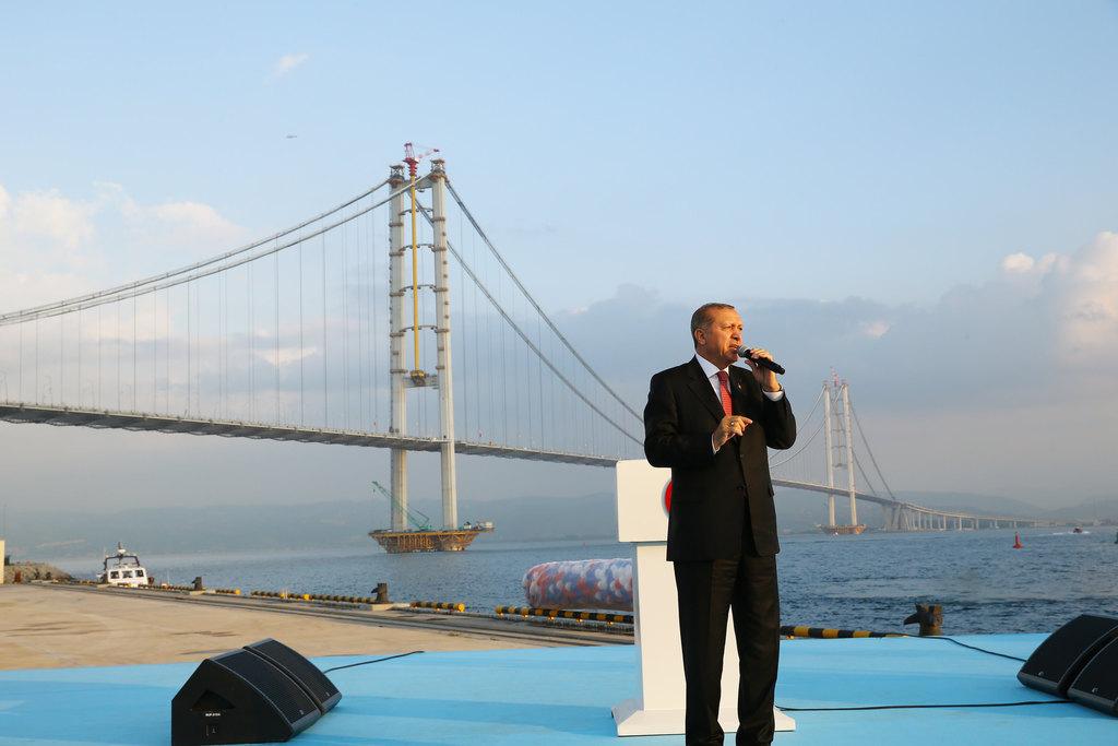 """Cumhurbaşkanı ve Sofuoğlu arasında """"Osmangazi"""" diyaloğu"""