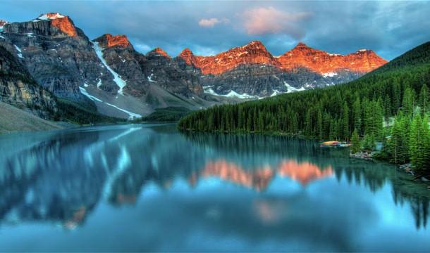 Dağların ortasında cennetten bir köşe