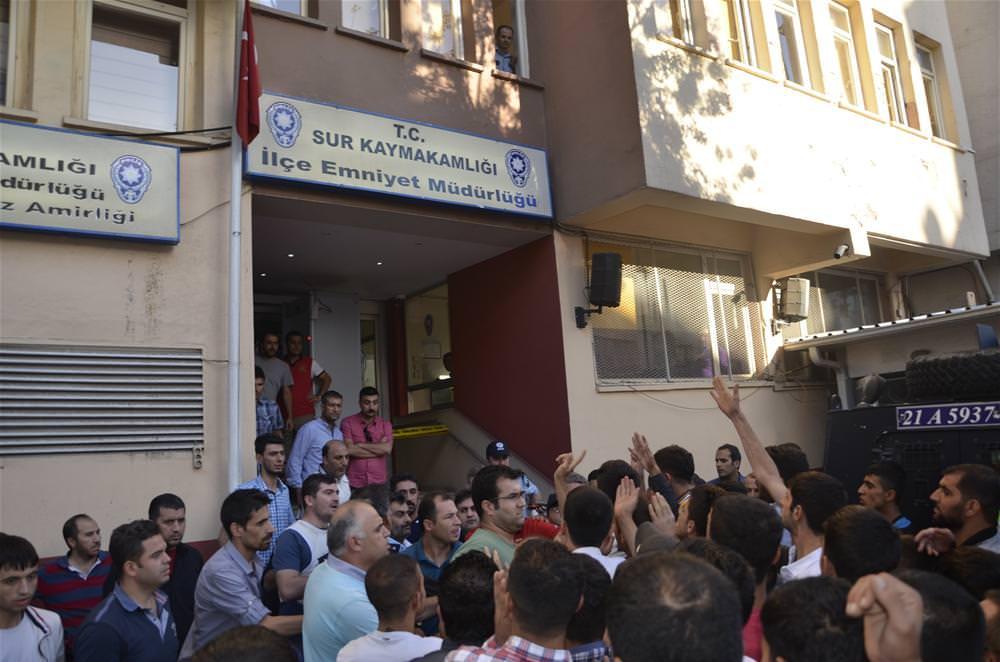 Diyarbakır'da kız çocuğuna saldırı