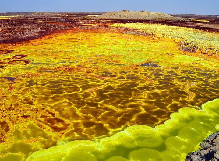 Dünyadaki en sıcak yer: Danakil Çöküntüsü