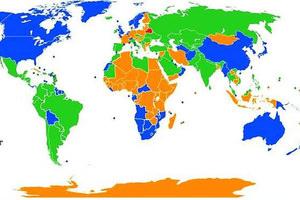 Dünyaya bakışınızı değiştirecek 38 enteresan harita