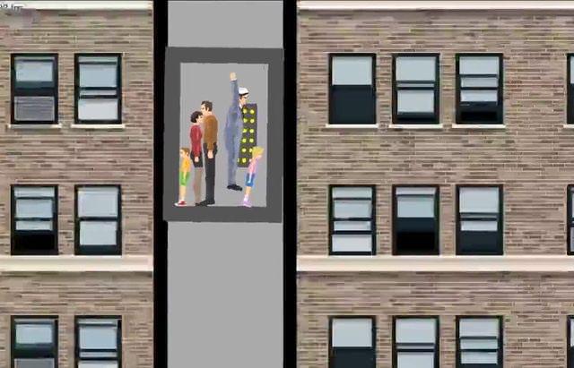 Düşen asansörde kurtulmak için ne yapmak lazım?