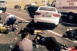 Erzurum'da trafik kazası