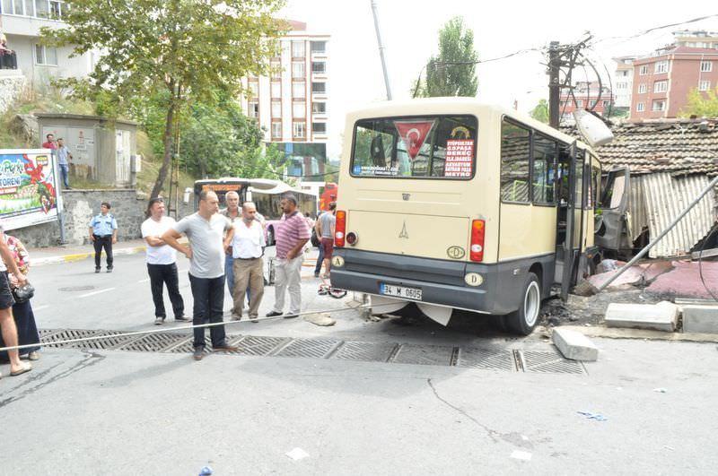 Eyüp'te minibüs dehşeti