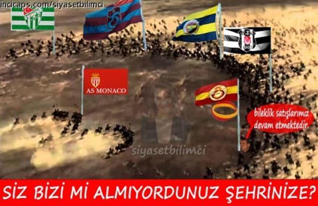 Fenerbahçe-Monaco capsleri