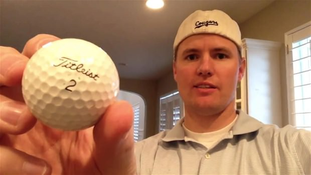 Golf topunun içinden bakın ne çıktı