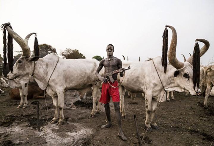 Güney Sudan'ın ilginç kabilesi