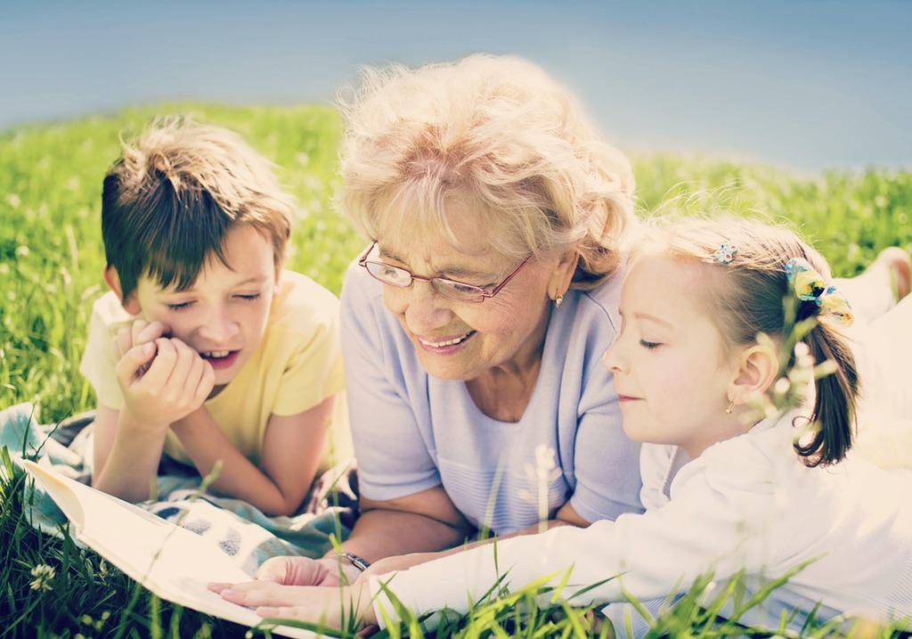 Прочитать рассказ бабушка и внук 14 фотография