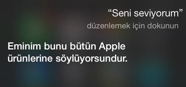 iPhone asistanı Siri'nin Türkçe sürümü sonrası capsleri