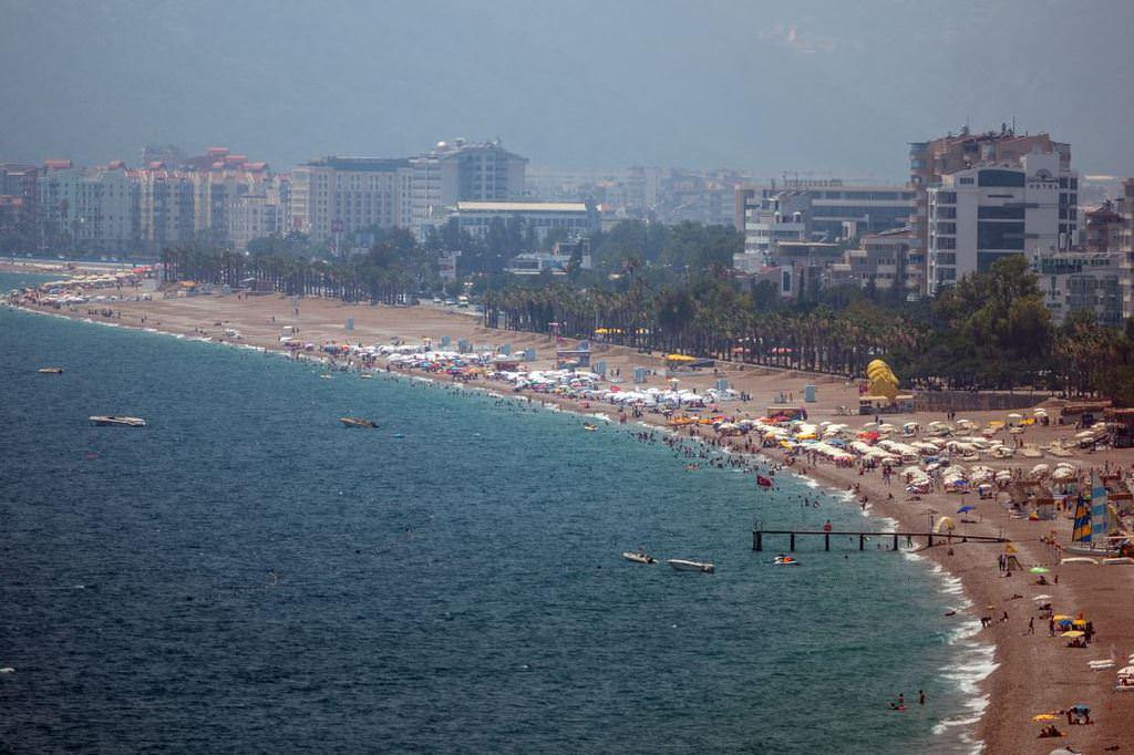 İstanbul sıcaktan kavruluyor