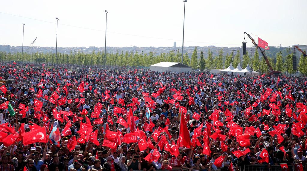 İstanbul'da büyük fetih kutlamaları